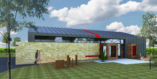 Beaux Salons Maison : Rénovation d un b timent industriel en maison de vacances